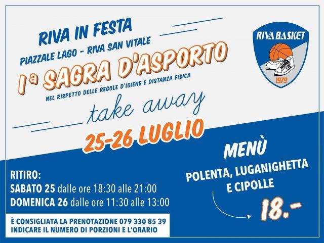 Riva in Festa – 1º Sagra d'asporto 25 e 26 luglio