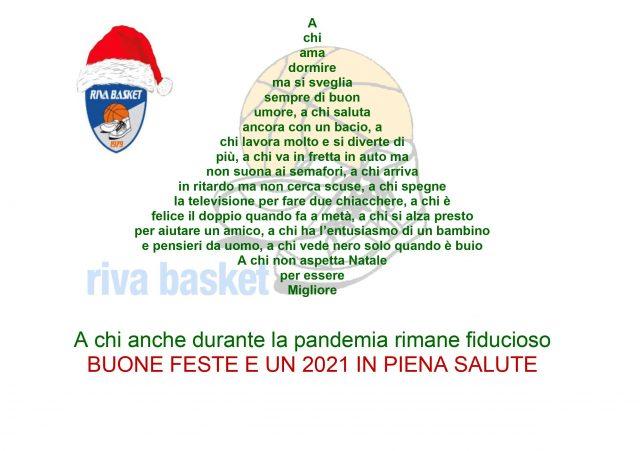 Buone Feste da Riva Basket